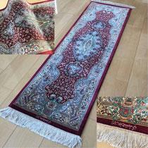 クム産 ペルシャ絨毯 シルクル 88,000円